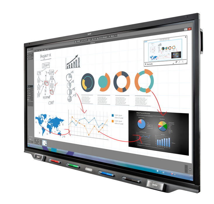 SMART Board 7000R Pro Series 75""