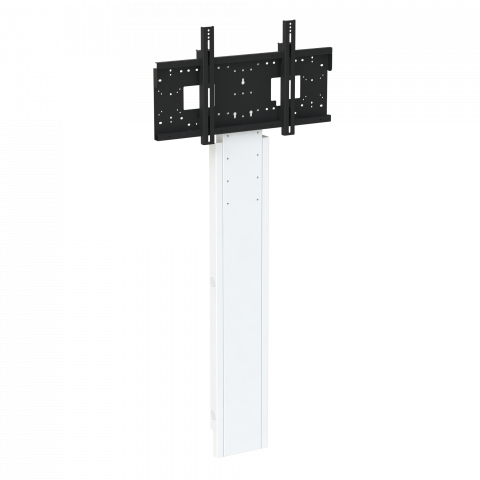 "Mono Slimline Fixed Height Wall to Floor Screen Mount, 1310-1710mm centre of screen, 42""-95"" max 130 kg"