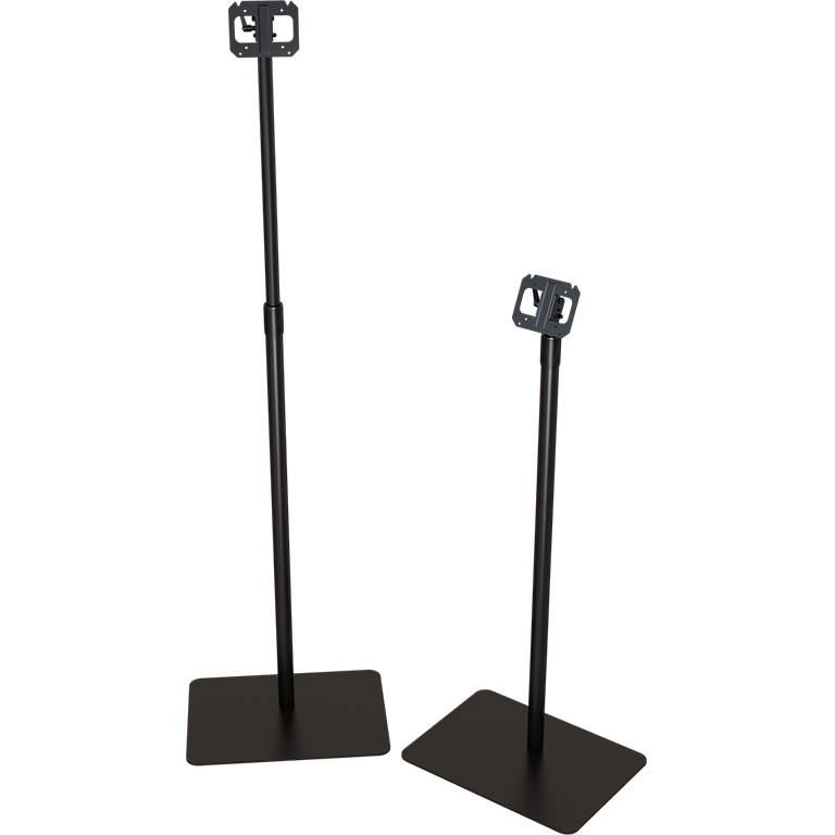 Pole stand for TTS tablets
