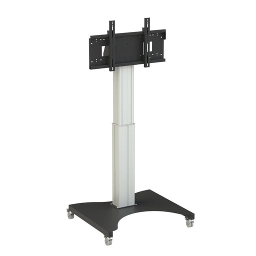 "Tango Touch Screen Height Adjustable Electric Mobile Stand | For Displays 55"" to 86"""
