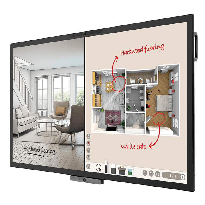 DuoBoard Corporate Interactive Flat Panel 65""