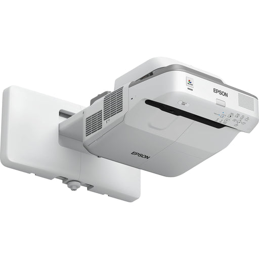 The PowerLite 685W ultra short-throw WXGA presentation projector for SMART supports the SMART Extended Control Panel and features advanced network connectivity. Compatible with a SMART Board M685 or 885 interactive whiteboards.
