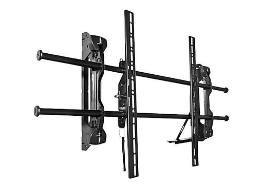 "This versatile bracket allows you to make numerous adjustments to your InFocus display after it's mounted for perfect positioning on the wall. It shifts from side-to-side, tilts to allow for easy installation of cables, and provides an audible ""click"" when the display is safely engaged with the mount."