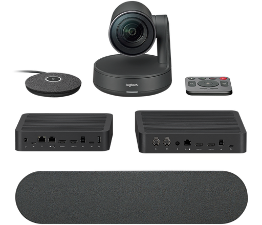 Logitech Rally conference camera system for medium and large size meeting rooms