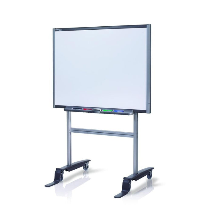 This SMART Technologies Mobile Floor Stand is compatible with SMART Board interactive whiteboards such as: SB680, SB685, SBM680, SBM685, SB880, and SB885. Perfect portable solution for your classroom or place of work!