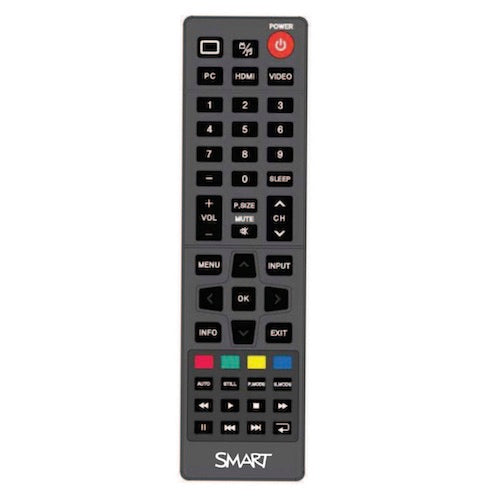 SMART remote control 1021284 SPNL-4070 for the 4000 Series interactive Boards.