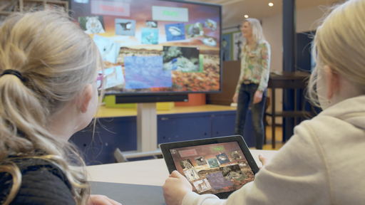 Tango touch interactive flat panel for the classroom