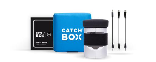 Catchbox Throwable Wireless Microphone