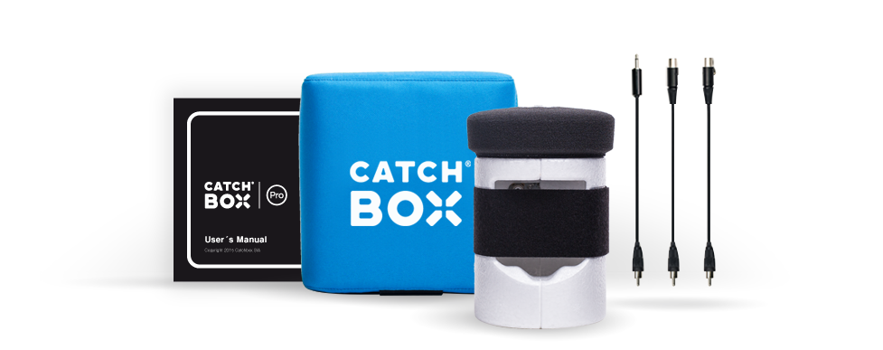 Customizable Catchbox Pro Throwable Wireless Microphone