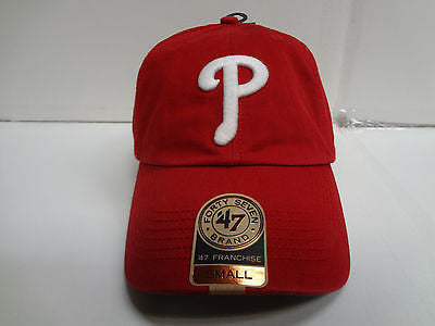 87ffd2b775d20f Philadelphia Phillies Franchise '47 Brand Fitted Cap Red Unstructured Hat