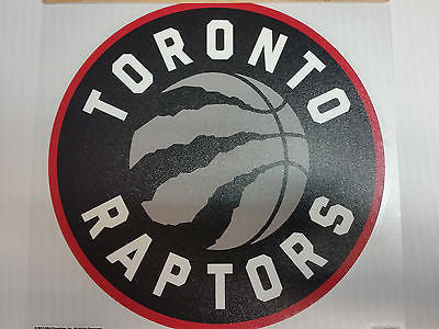 Toronto Raptors Colored Window Die Cut Decal Wincraft Sticker 8x8 NBA