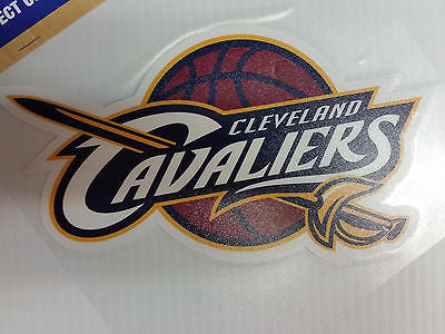 Cleveland Cavaliers Colored Window Die Cut Decal Wincraft Sticker 8x8 NBA