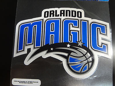 Orlando Magic Colored Window Die Cut Decal Wincraft Sticker 8x8 NBA