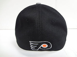 Philadelphia Flyers Reebok Cap Playoffs Center Ice Stretch Flex Fit Fitted Hat