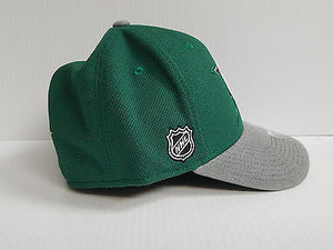 Dallas Stars Reebok Cap Playoffs Center Ice Stretch Flex Fit Fitted Hat