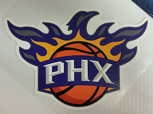Phoenix Suns Colored Window Die Cut Decal Wincraft Sticker 8x8 NBA