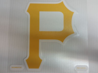 Pittsburgh Pirates Colored Window Die Cut Decal Wincraft Sticker 8x8 MLB