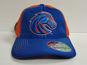 Boise State Broncos Cap Zephyr Stretch Fit Fitted Rally 2 Mesh Hat