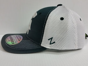 Michigan State Spartans Cap Zephyr Stretch Fit Fitted Rally 2 Mesh Hat NCAA