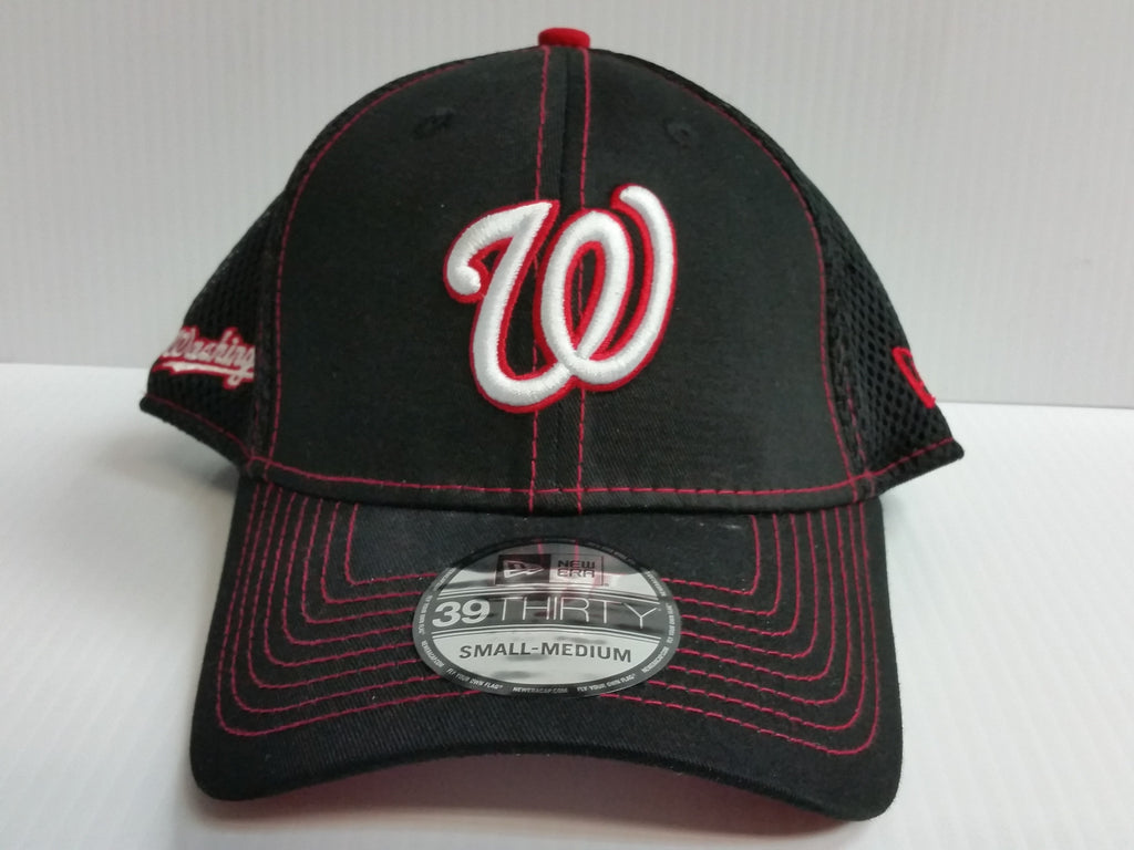 Washington Nationals Cap New Era 39Thirty Stretch Fit Crux Line Neo Mesh Hat