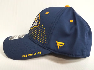 Nashville Predators Cap 2018 Official NHL Draft Stretch Fit Fitted Hat