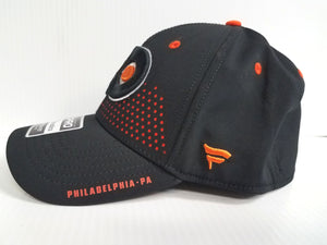 Philadelphia Flyers Cap 2018 Official NHL Draft Stretch Fit Fitted Hat