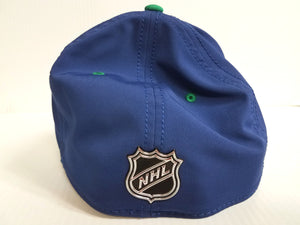 Vancouver Canucks Cap 2018 Official NHL Draft Stretch Fit Fitted Hat
