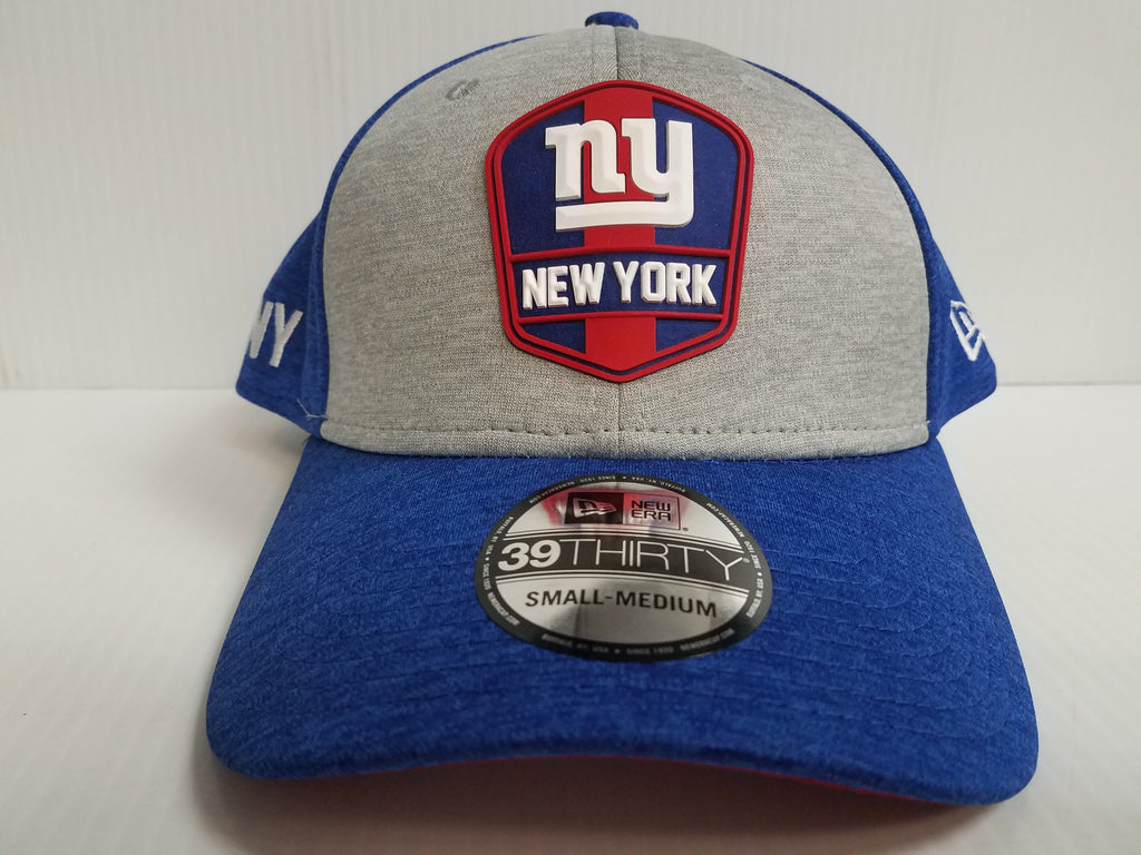 New York Giants Cap New Era 39Thirty Stretch On Field 2018 Road Sideline Hat