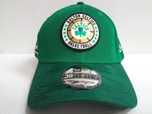 Boston Celtics Cap New Era 39Thirty Stretch Fitted 2018 Tipoff Hat NBA
