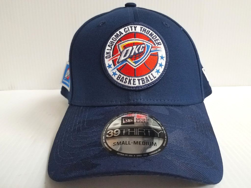 Oklahoma City Thunder Cap New Era 39Thirty Stretch Fitted 2018 Tipoff Hat NBA