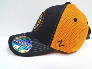 Boston Bruins Cap Zephyr Stretch Fit Fitted Rally 2 Mesh Hat NHL