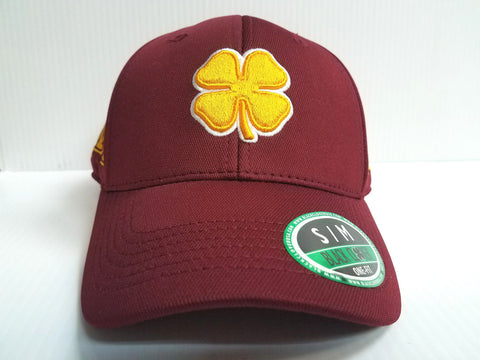 Minnesota Gophers Black Clover Cap Lucky Premium Stretch Golf Hat NCAA