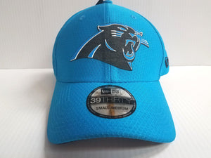 Carolina Panthers Cap New Era 39Thirty Stretch Fit Hat Teal 2018 Training Camp