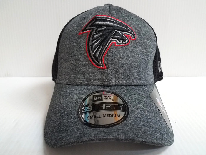 Atlanta Falcons Cap New Era 39Thirty Stretch Fit Mesh Shadow Front Neo Hat