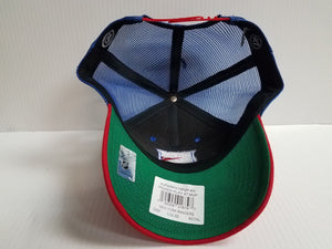 New York Rangers Cap 47 Brand Mesh Adjustable Power Play MVP Trucker Hat NHL