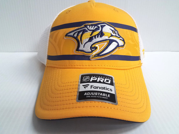 Nashville Predators Cap 2018 Authentic Pro Second Season Adjustable Mesh Hat