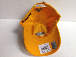 Nashville Predators Cap Adidas Unstructured Yellow Adjustable Dad Hat NHL