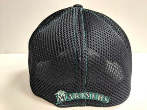 Seattle Mariners Cap New Era 39Thirty Stretch Fit Mesh Classic Shade Neo Hat