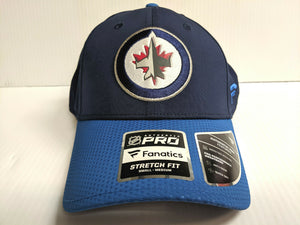 Winnipeg Jets Cap 2019 Official NHL Draft Stretch Flex Fit Fitted Hat