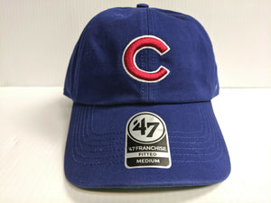 Chicago Cubs New Franchise '47 Brand Fitted Cap C Unstructured Blue Hat MLB