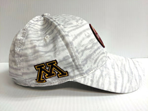 Minnesota Gophers Black Clover Cap Stretch Fit Fitted Mood Golf Hat Live Lucky