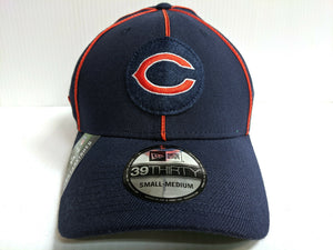 Chicago Bears Cap New Era 39Thirty Stretch 2019 Navy Home Sideline 1920s Hat