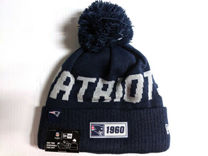 New England Patriots Knit Hat New Era 2019 Sport On Field Sideline Road Cap NFL