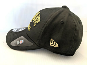 New Orleans Saints Cap New Era 39Thirty Stretch 2020 Alternate NFL Draft Hat