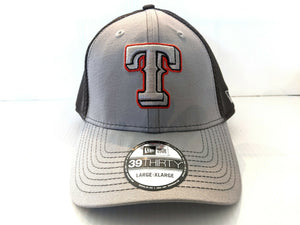 Texas Rangers Cap New Era 39Thirty Stretch Grayed Out 2 Neo Hat