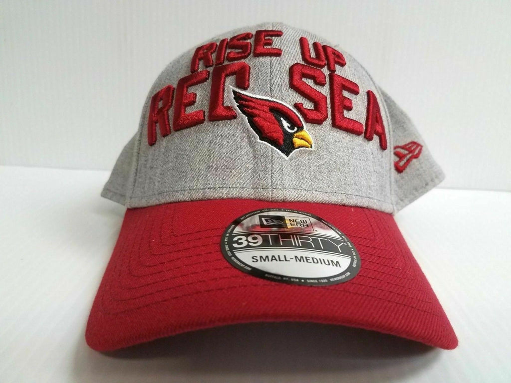 Arizona Cardinals Cap New Era 39Thirty Stretch 2018 On Stage NFL Draft Day Hat