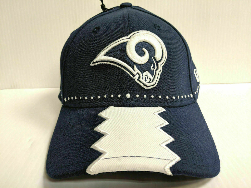 Los Angeles Rams Cap New Era 39Thirty Stretch 2019 On Stage NFL Draft Hat