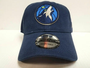 Minnesota Timberwolves Adjustable Cap Strapback New Era  9Twenty Core Dad Hat