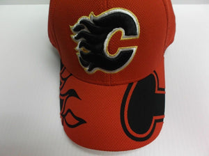 Calgary Flames Reebok 2015 Official NHL Draft Cap Stretch Fit Fitted Hat