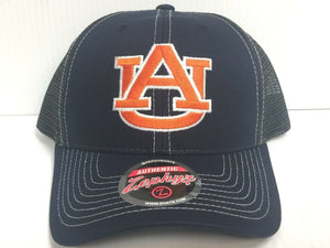 Auburn Tigers Cap Zephyr Adjustable Snapback Staple Trucker Mesh Hat NCAA